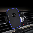 Qi Fast Wireless Car Charger Stand Air Vent Phone Holder Mount for Samsung S9 S8