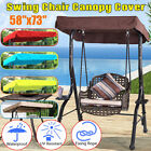 Replacement Canopy Swing For Garden Swing Hammock 3 Seater Sizes Spare Sun Cover