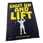 Gym Sweat Microfiber Sports Towel Bodybuilding Funny - Shut Up And Lift