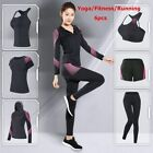 Women Fitness Suits Female Yoga Clothes Gym Workout Running Outfit Tracksuit Set
