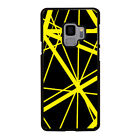 EDDIE VAN HALEN GUITAR YELLOW Samsung Galaxy S5 S6 S7 Edge S8 S9 Plus Case