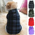XS-3XL Pet Dog Winter Warm Coat Sweater Puppy Apparel Fleece Vest Jacket US