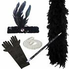 Ladies Gatsby FLAPPER Fancy Dress Accessories 20s Charleston Costume outfit 20s