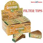 GREENGO Rolling FILTER TIPS Roaches roach Paper Card Unbleached Chlorine Free UK