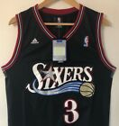 Allen Iverson Philadelphia 76ers Replica Throwback Stitched Jersey on eBay