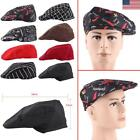 1pc Fashion Hot Kitchen Elastic Cook Baker Chef Beret Hat Cap Catering Men Women