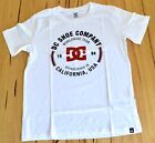 DC Shoes Boys Printed T Shirt - WHITE- SIZE - 12,14 & 16 YEARS - NEW