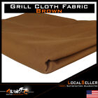 Brown Speaker Grill Cloth Audio Stereo Grille Fabric 55 Wide Choose Length