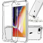 iPhone 11 Pro 6 6s 7 8 Plus X XR XS MAX Hybrid Shockproof Thin Clear TPU Case