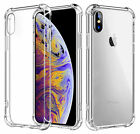 Hybrid Shockproof Thin Clear TPU Case Fits iPhone 11 Pro X 6 7 8 Plus XR XS MAX