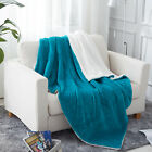 Sherpa Throw Blanket for Couch, Plush Soft Warm,Throw/Twin Size 4 Colors image