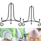 4-12inch Iron Bracket Display Stand Home for Bowl Plate Art Photo Picture Frame