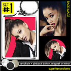 Ariana Grande KEYCHAIN + BUTTON or MAGNET or MIRROR badge pin pinback new #1457