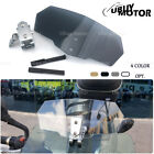 Adjustable Clip On Windshield Extension Spoiler For Triumph Tiger 800 XCX 955i $27.99 USD on eBay