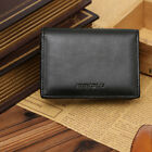 Mens Business Clutch Leather Wallet Bifold Credit Card Holder Purse Money Clip
