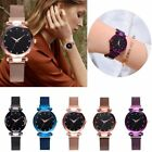 Casual Starry Sky Belt Watch Magnet Strap Buckle Stainless Luxury Wrist Watch image