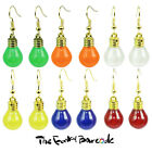 TFB - GARDEN PARTY DANGLE EARRINGS Funky Quirky Retro Kitsch Cool Summer Novelty