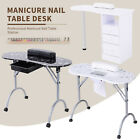 Manicure Nail Table Portable Station Desk Spa Beauty Salon w/Drawer Multi Color