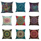 Mandala Style Indian Throw Pillow Case Cushion Cover Sofa Home Decor 18x18inch