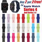 Kyпить Silicone Band Strap For Apple Watch iWatch Sports Series 1/2/3/4 38/42/40/44mm на еВаy.соm