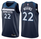 Andrew Wiggins 22 Minnesota Timberwolves Mens Navy Icon Jersey