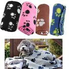 Pet Dog Puppy Cat Warm Soft Fleece Blanket Bed Mat Bath Towel Sofa Cushion Mat