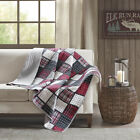 Woolrich Tulsa Oversized Plaid Print Cotton Quilted Throw image