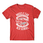 Muscle Car T-Shirt 100% Cotton Premium Tee New image