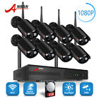 1080P Wireless Camera System Home Security 3TB Hard Drive 8CH NVR Outdoor CCTV