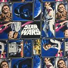 Star Wars Patchwork  Quilting Fabric Kids Film FQ Toss New Cotton $4.06 USD on eBay