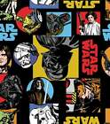 Star Wars Patchwork Multicoloured Quilting Fabric Kids Film FQ Toss New Cotton $4.61 USD on eBay