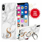 Personalised Phone Case Cover & Finger Ring Stand Holder For Top Mobiles 072-9