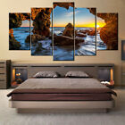 5 pieces Wall Art Picture HD-Ocean Sunset Sunrise-nature for living room