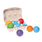 <div>Grimm's Giant Marbles - Set of Wooden Balls in a Rainbow of Colors</div>