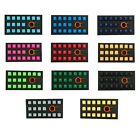 Tai-Hao Rubber TPR 18 keys Gaming Keycap set BackLite for mechanical keyboard