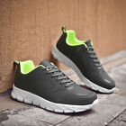 39-48 Men's Faux Leather Sneakers Shoes Sports Running Skate Trainers Many Sizes