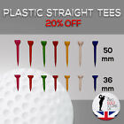 Plastic Golf Tees 36mm 50mm Various Quantities Extra 20%off Unbreakable Tees!