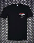 Triumph Motorcycle Biker UK United Kingdom Flag Pocket Design T-Shirt S M L- 3XL $28.45 CAD on eBay
