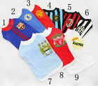 Dog Vest T Shirt Pet Puppy Football Club Soccer Supporter Costume Jersey Costume