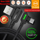 MCDODO USB-C Type-C Cable Heavy Duty Charging Sync Charger Samsung Note 9 S9 S10