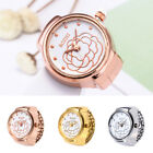 Dial Quartz Analog Watch Elastic Creative Steel Cool Quartz Finger Ring Watch image