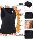 Men's Slimming Hot Neoprene Vest Body Shaper Sweat Shirt Waist Trainer Shapewear <br/> 'We suggest that you order one size larger than yours'