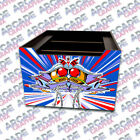 Arcade1up Cabinet Riser Galaga Graphic Sticker Decal Only Variations Available