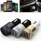 'Car Charger Universal 3.1a Dual Port Usb Alloy Iphone Samsung Htc Huawei Lg Sony