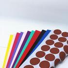 Colorful A4 Paper Kraft Paper Self Adhesive Label 3cm 54 Pieces Round Stickers