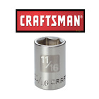 """Craftsman 3/8"""" or 1/2"""" Drive SAE Star 8 point Socket Any Size STD New"""
