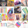 Black Gel Pen Colorful Ballpoint Business Writing Student School Stationery Tool