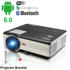 CAIWEI HD Android Home Theater Projector Bluetooth 1080p Wifi HDMI PS4 USB Stand