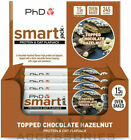 PHD Nutrition Smart Bar Smart Jack Protein Oat Flapjack Snack Bars 12x60g NEW