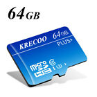 32GB 64GB 256GB Micro SD HC Class 10 TF Flash SDHC Memory Card with Adapter